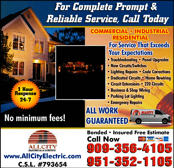 Electricians All City Electrical and Lighting Local